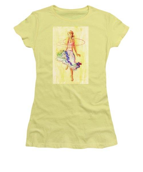 Hoop Dance Women's T-Shirt (Athletic Fit)