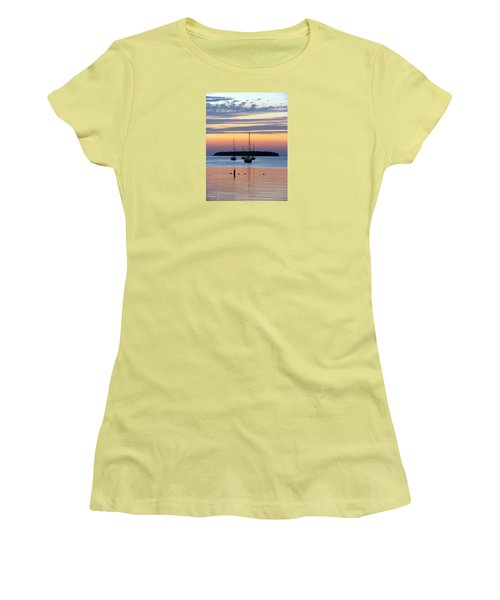 Horsehoe Island Sunset Women's T-Shirt (Athletic Fit)