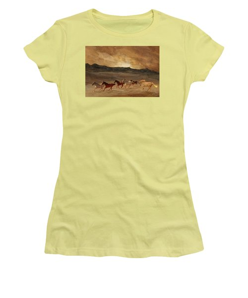 Horses Of Stone Women's T-Shirt (Athletic Fit)