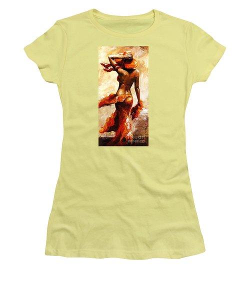 Hot Breeze  Women's T-Shirt (Athletic Fit)