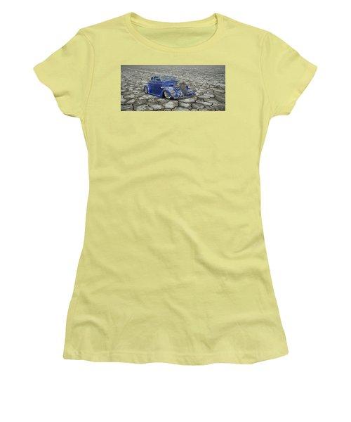 Hot Rod Mirage Women's T-Shirt (Junior Cut) by Steve McKinzie