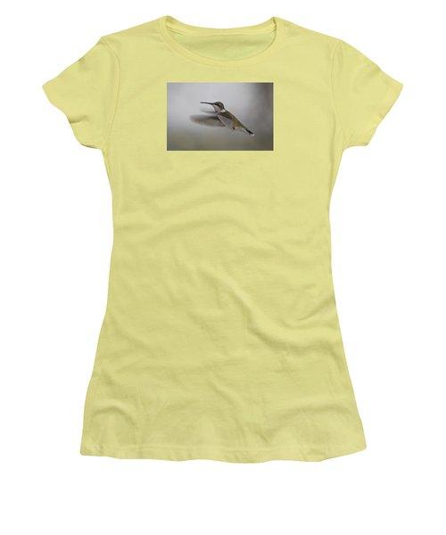 Women's T-Shirt (Junior Cut) featuring the photograph Hummingbird  by Leticia Latocki