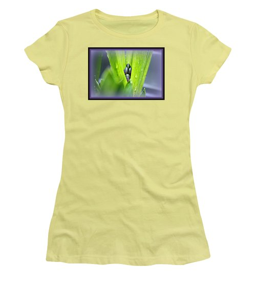 Hyacinth For Micah Women's T-Shirt (Junior Cut) by Katie Wing Vigil