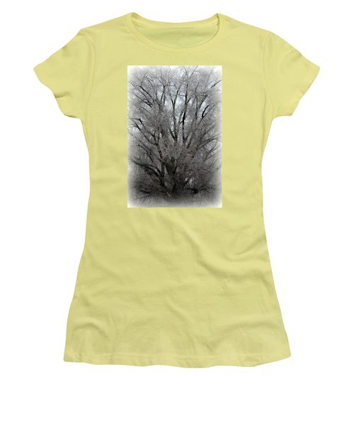 Ice Sculpture Women's T-Shirt (Athletic Fit)