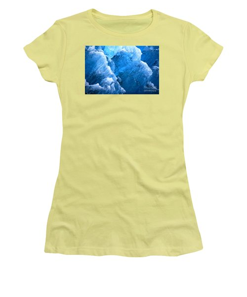 Iceberg Blues Women's T-Shirt (Athletic Fit)