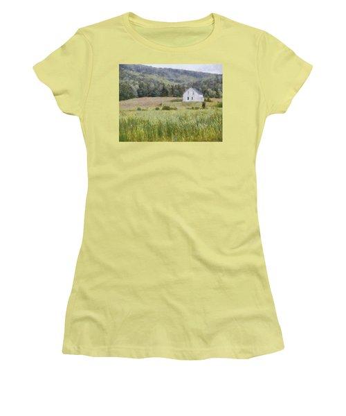 Idyllic Isolation Women's T-Shirt (Junior Cut) by Jeff Kolker