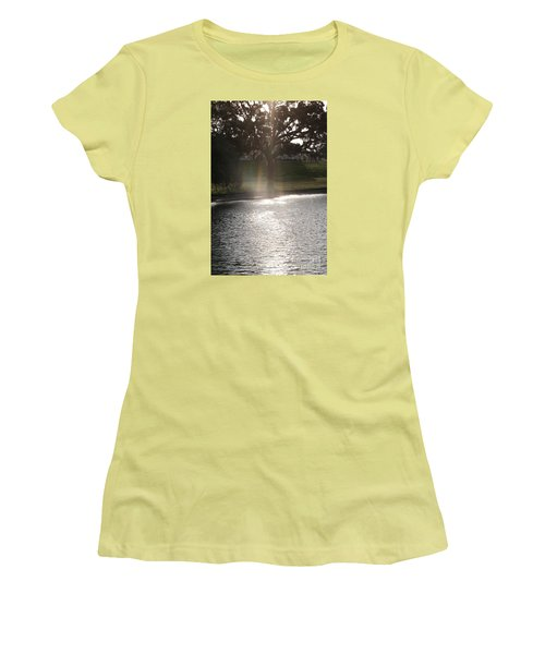 Illuminated Tree Women's T-Shirt (Athletic Fit)