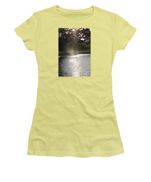 Illuminated Tree Women's T-Shirt (Athletic Fit)