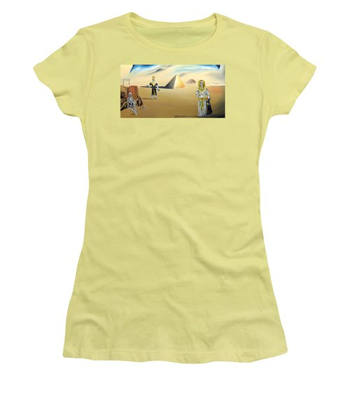 Women's T-Shirt (Junior Cut) featuring the painting Immortality by Ryan Demaree