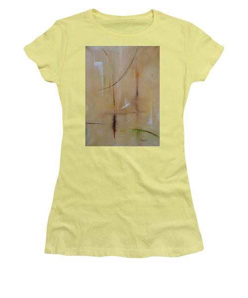 In Pursuit Of Youth Women's T-Shirt (Junior Cut) by Judith Rhue
