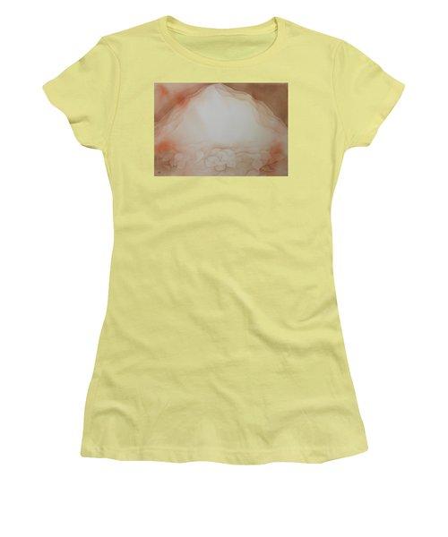 In The Beginning Women's T-Shirt (Junior Cut) by Richard Faulkner