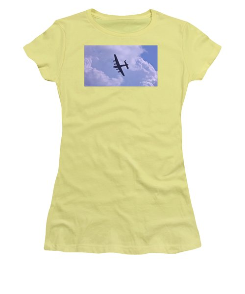 In To The Clouds Women's T-Shirt (Junior Cut) by John Williams