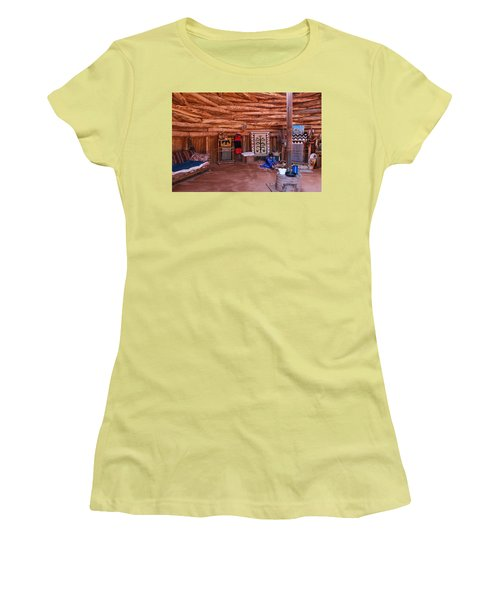 Inside A Navajo Home Women's T-Shirt (Athletic Fit)