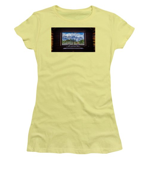 Inside Looking Out Women's T-Shirt (Athletic Fit)