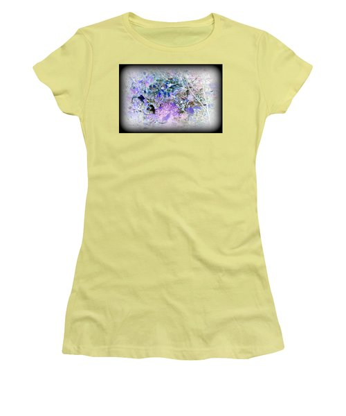 Inverted Bush Women's T-Shirt (Junior Cut) by Jason Lees
