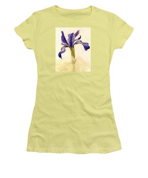 Iris Women's T-Shirt (Junior Cut) by Barbie Corbett-Newmin