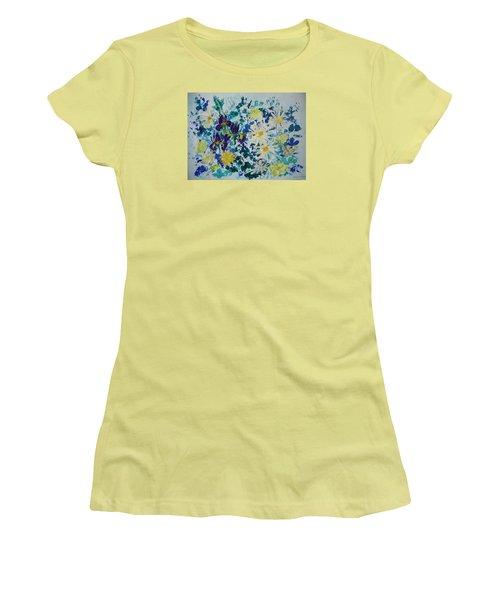 Iris Bouquet Women's T-Shirt (Athletic Fit)