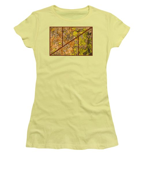 Iron And Lichen Women's T-Shirt (Athletic Fit)