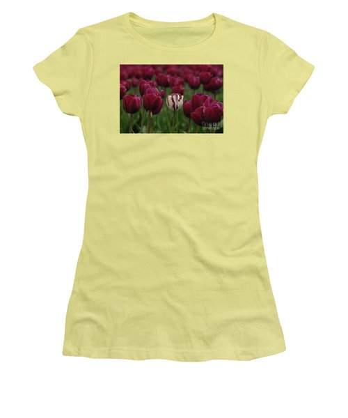 It Is Beautiful Being Different Women's T-Shirt (Junior Cut) by Bob Christopher