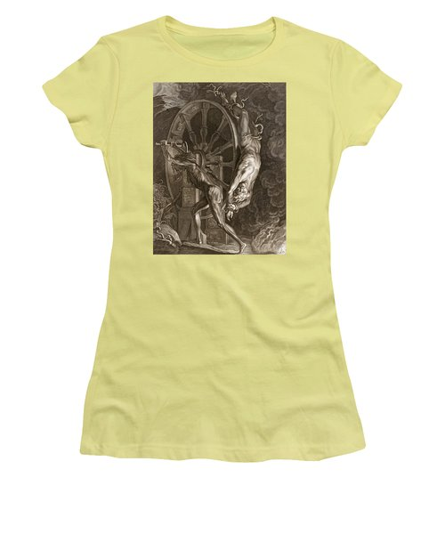 Ixion In Tartarus On The Wheel, 1731 Women's T-Shirt (Athletic Fit)