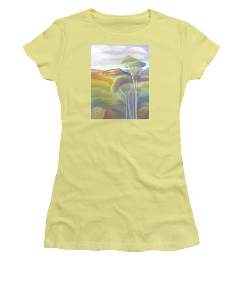 Jamison Valley Blue Mountains National Park Nsw Australia Women's T-Shirt (Athletic Fit)