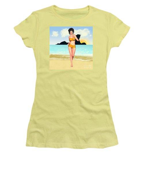 Jogging Miriam Women's T-Shirt (Athletic Fit)