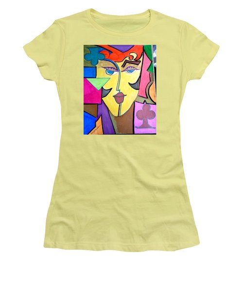 Joker Art Women's T-Shirt (Athletic Fit)