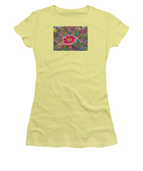 Jungle Flower Women's T-Shirt (Athletic Fit)
