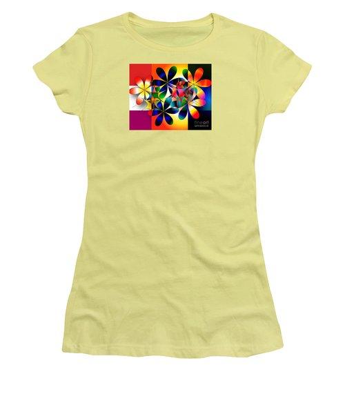 Just A Note Women's T-Shirt (Junior Cut) by Iris Gelbart