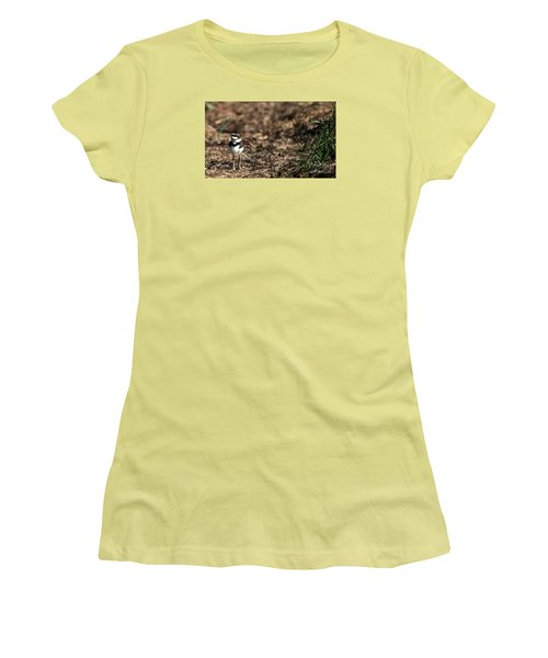 Killdeer Chick Women's T-Shirt (Athletic Fit)