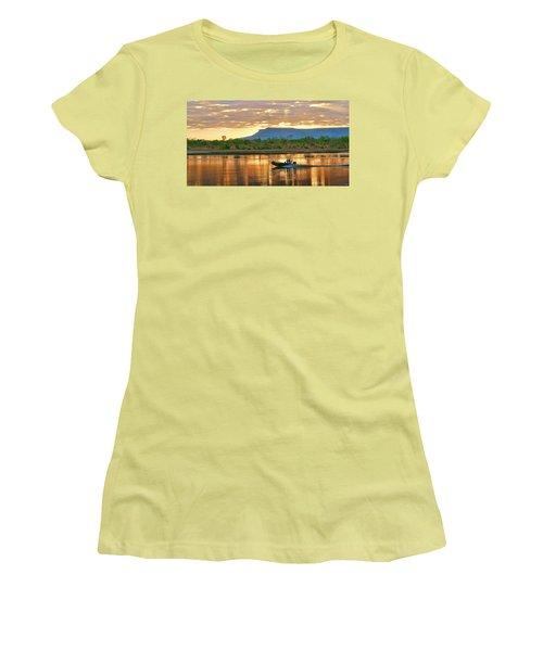 Kimberley Dawning Women's T-Shirt (Junior Cut) by Holly Kempe