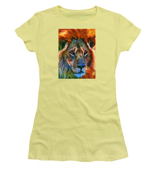 King Of The Wilderness Women's T-Shirt (Athletic Fit)