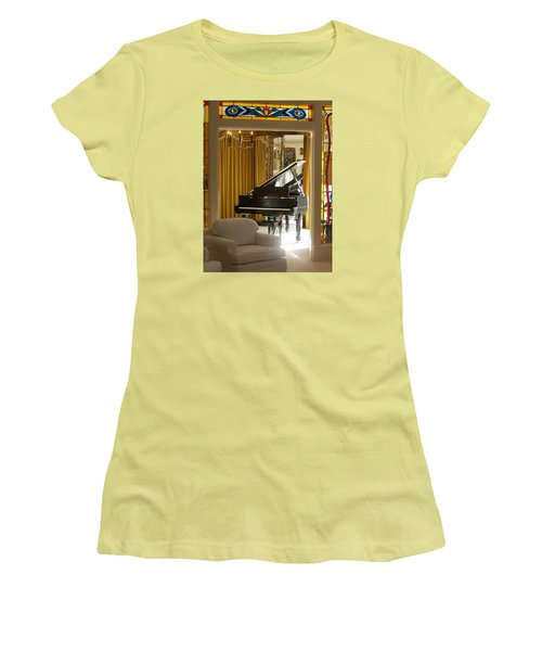 Kings Piano Women's T-Shirt (Athletic Fit)