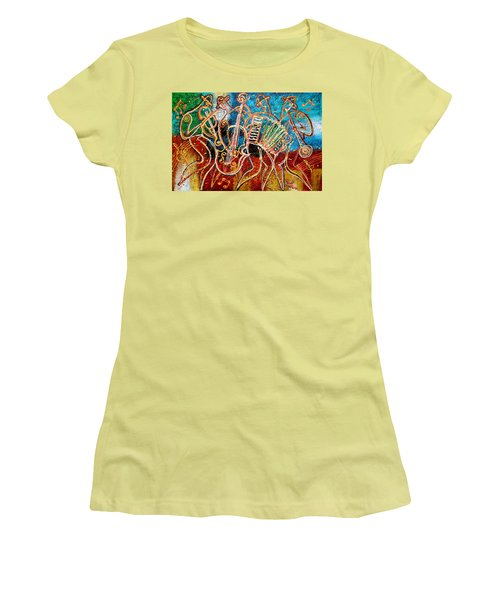 Klezmer Music Band Women's T-Shirt (Athletic Fit)