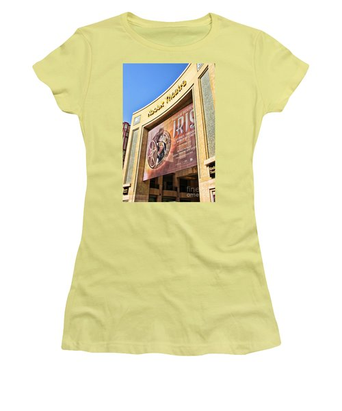 Kodak Theatre Women's T-Shirt (Junior Cut) by Mariola Bitner