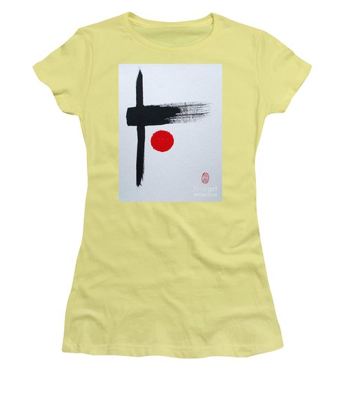 Kyosaku Women's T-Shirt (Junior Cut) by Roberto Prusso