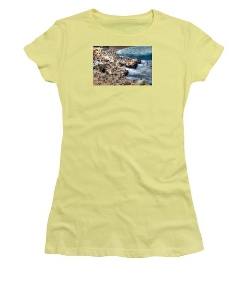 La Jolla Cove Wildlife Women's T-Shirt (Athletic Fit)