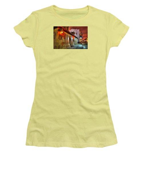 Lafitte's Blacksmith Shop Women's T-Shirt (Athletic Fit)