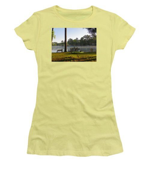 Lake Life Women's T-Shirt (Athletic Fit)