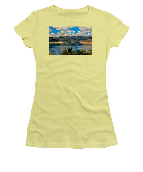 Lake Roosevelt Women's T-Shirt (Athletic Fit)