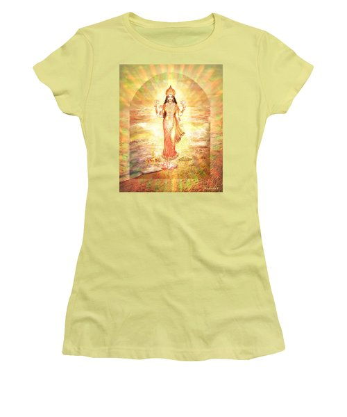 Lakshmis Birth From The Milk Ocean Women's T-Shirt (Athletic Fit)