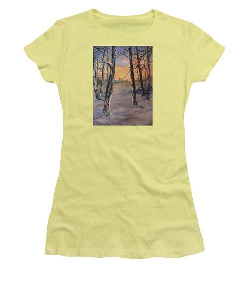 Last Of The Sun Women's T-Shirt (Junior Cut) by Jean Walker