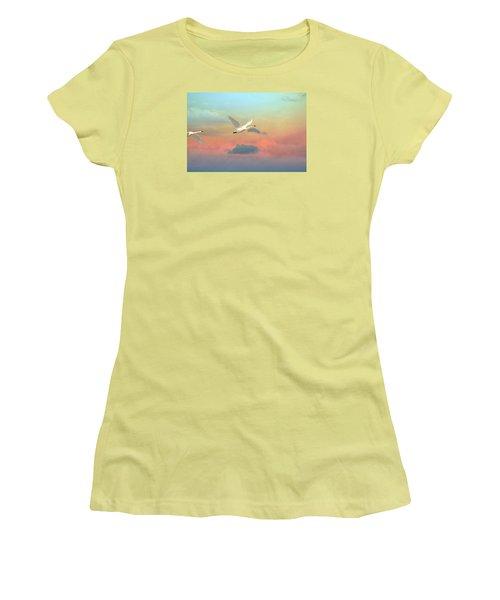 Last Vestige Women's T-Shirt (Junior Cut) by Ed Hall