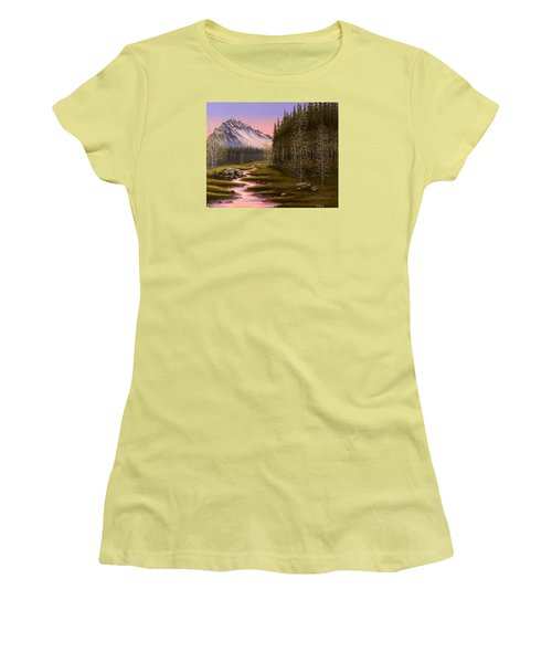 Late In The Day Women's T-Shirt (Junior Cut) by Jack Malloch