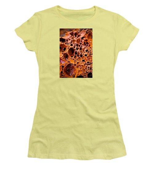 Lava Rock Women's T-Shirt (Junior Cut) by Joel Loftus