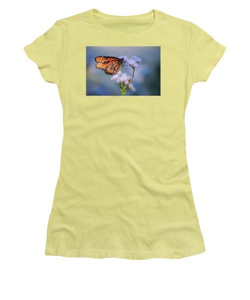 8x10 Metal - Queen Butterfly Women's T-Shirt (Junior Cut) by Tam Ryan
