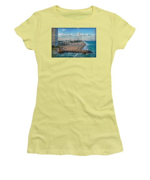 Leaving Port Everglades Women's T-Shirt (Athletic Fit)