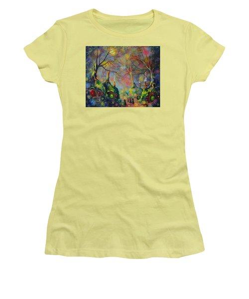 Leaving The Shire Women's T-Shirt (Junior Cut) by Joe Gilronan