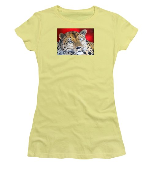 Leopardo Women's T-Shirt (Athletic Fit)