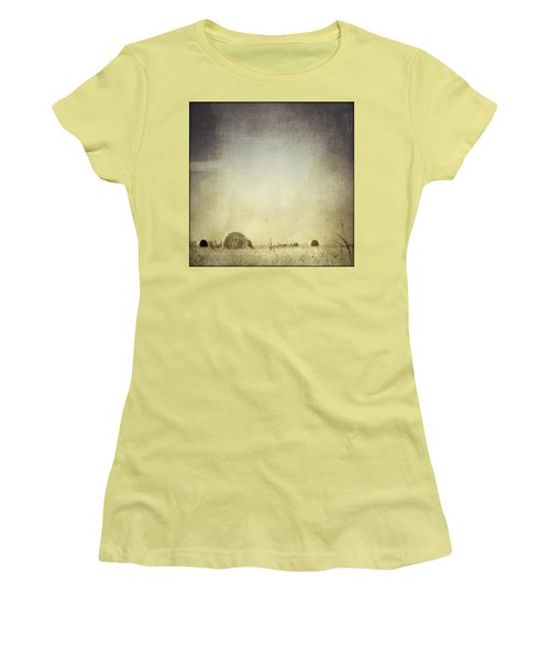 Let The Rain Come Down Women's T-Shirt (Junior Cut) by Trish Mistric